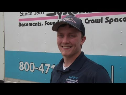 At Ayers Basement Systems we are nothing if not for the hard-working team that make it all happen.Meet Travis Tate, a service technician here at Ayers and one of our most enthusiastic team members. When he says that he loves his job, you can tell he means it. If you have problems with your installation and you get a visit from Travis, know that you're in good hands.