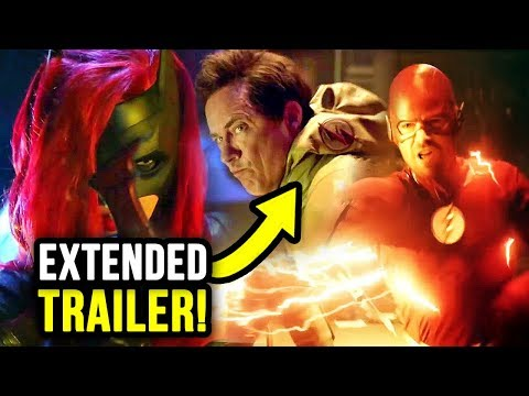 WHAT? Reverse Flash in Elseworlds & MUCH More! - Elseworlds EXTENDED Trailer