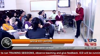 ICD Lahore | TRAIN the TRAINER Course by Cambridge University | CELTA Course | Expo News