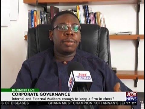 Corporate Governance - Business Live on JoyNews (20-8-18)