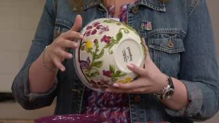 Temp-tations S/2 Butterfly Garden Nesting Bowls on QVC