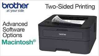 Duplex printing from  Macintosh® - Brother printers