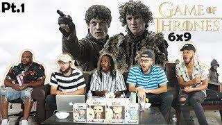 BATTLE OF THE BASTARDS! Game of Thrones Season 6 Episode 9 REACTION! (Pt. 1)
