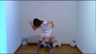 【ケーキ姫☆優海】恋愛ハンターを踊ったみた【ハロプロ大好き】 - YouTube