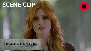 Shadowhunters | Season 1, Episode 10: Clary, Jace, & Meliorn Find Portal | Freeform