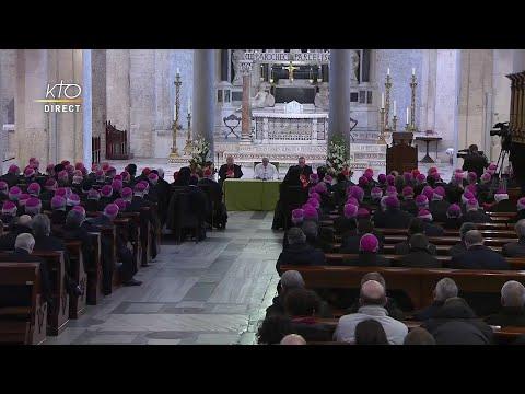 Rencontre du pape François avec les évêques à Bari
