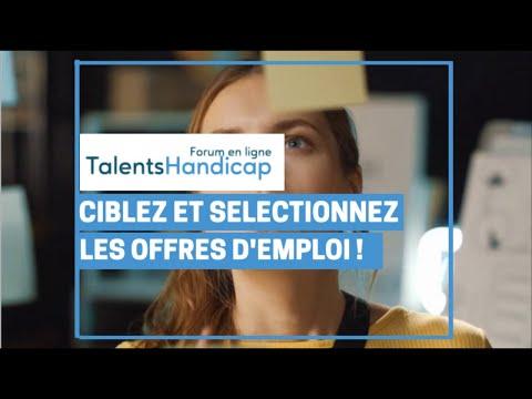 Video Ciblez et sélectionnez les offres d'emploi