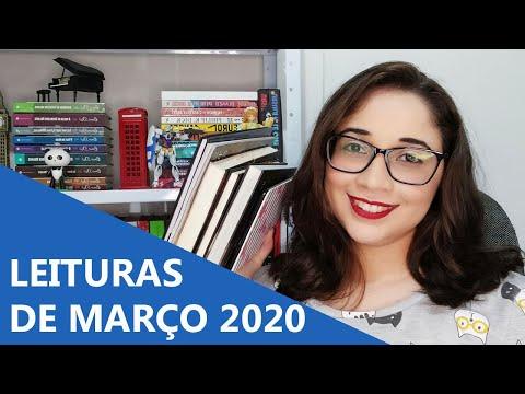 LEITURAS DE MARÇO 2020 ? | Biblioteca da Rô