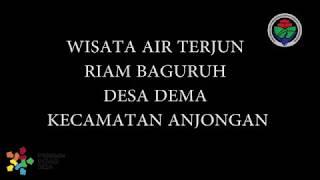 """preview picture of video 'Wisata Air Terjun """"RIAM BAGURUH"""" kecamatan anjungan kabupaten MEMPAWAH'"""