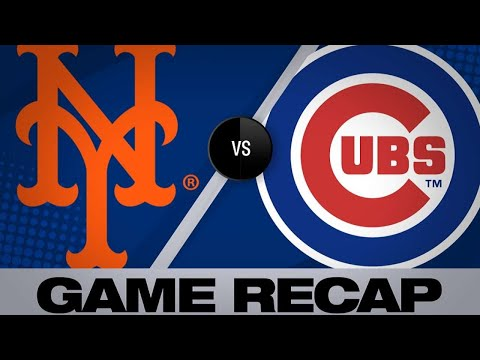 Mets score in 6 straight frames in 10-2 win | Mets-Cubs Game Highlights 6/22/19