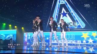 에이프린스  (A-PRINCE) [Hello]@SBS Inkigayo 인기가요 20130113