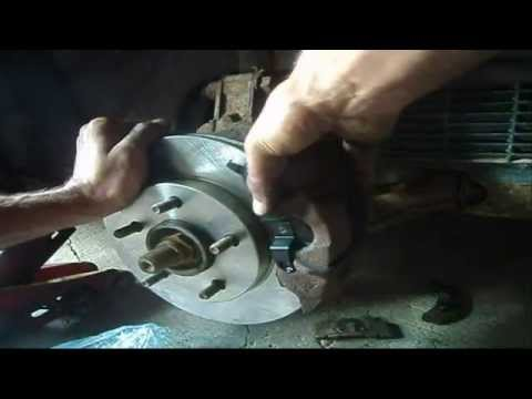 Front Brake Pads & Rotor Replacement On Oldsmobile Cutlass Ciera