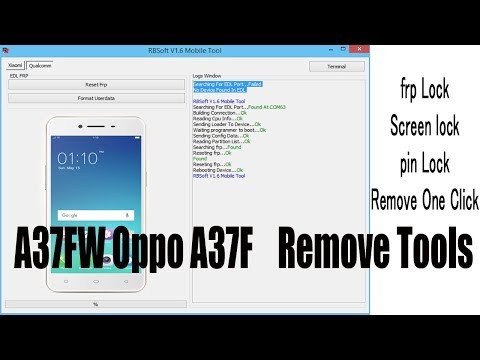 oppo A37fw pattern lock remove with flash - HAMOUCH MOBILE - Video