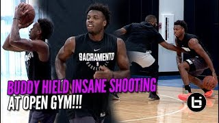 BUDDY HIELD CRAZY SHOOTING PERFORMANCE AT OPEN RUN! Ballislife Highlights