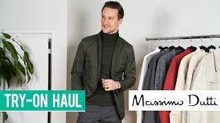 Massimo Dutti Try-On Haul | Men's Fashion 2019 | Outfit Inspiration