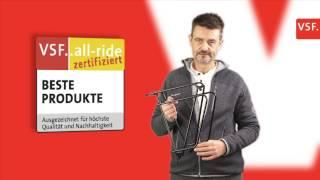 tubus + racktime Gepäckträger - VSF..all-ride Zertifikat