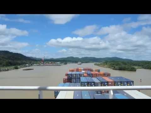 رحلة سريعة وجميلة لعبور قناة بنما