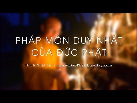 Pháp môn duy nhất của Đức Phật  - 31/08/2014