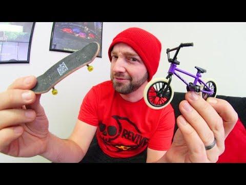 FINGER BMX VS  FINGER SKATEBOARD! / Which is better!?