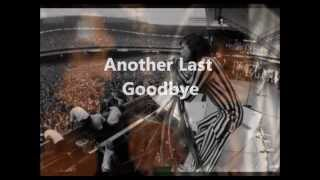 Another Last Goodbye Aerosmith (lyrics)