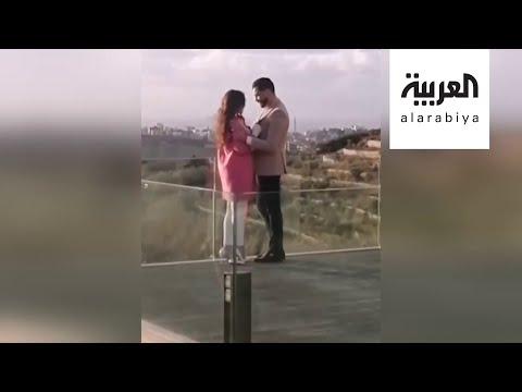 العرب اليوم - شاهد: أكثر من مليون مشاهدة لهيفا وهبي ومعتصم النهار