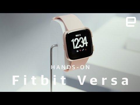 Fitbit Versa hands-on