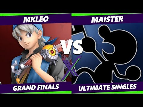 Smash Ultimate Tournament - MKLeo (Hero, Joker) Vs. Maister (Game & Watch) S@X 314 SSBU Grand Finals