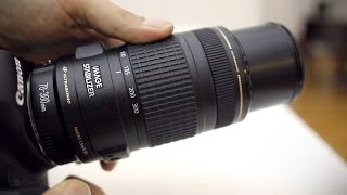 Canon 70-300mm f/4-5.6 IS USM lens review with samples (full frame & APS-C)