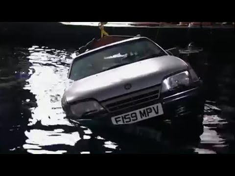 Richard Hammond's Underwater Car Challenge Part 2 - BBC