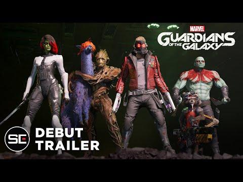 Trailer d'annonce de Marvel's Guardians of the Galaxy