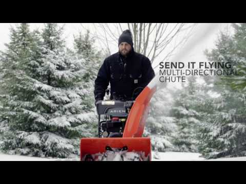 Ariens Deluxe 28 SHO in Greenland, Michigan - Video 1