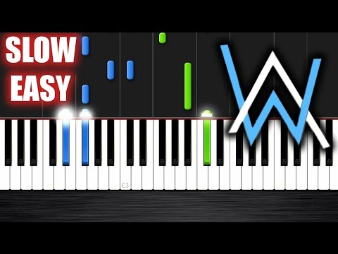 Alan Walker - Faded - SLOW EASY Piano Tutorial By PlutaX Mp3