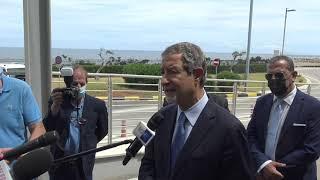 Alitalia, Musumeci e Orlando invocano il governo