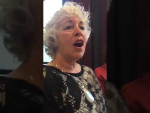The Amy Coleman Sing Along. This is a clip of monthly sing along group I run for women over the age of 60.