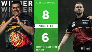 """Jose De Sousa: """"My problem is not the numbers, it's my head, the fans were shouting what to go for!"""""""