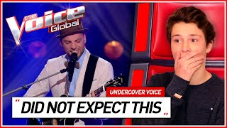 REACT TO: MOST UNEXPECTED VOICES in The Voice   Undercover Voice #1