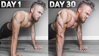 100 Push Ups A Day Challenge (RESULTS In 30 Days)