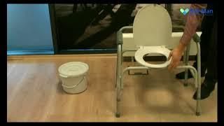 www.medicland.ro - montare WC de camera pentru persoane supraponderale Ortomobil 015205HD