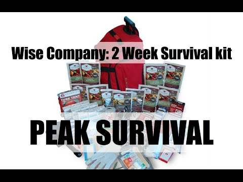 Wise Company: 2 Week Deluxe Emergency Survival Kit
