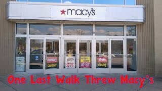 Our Macy's Is Closing It's Doors For Good