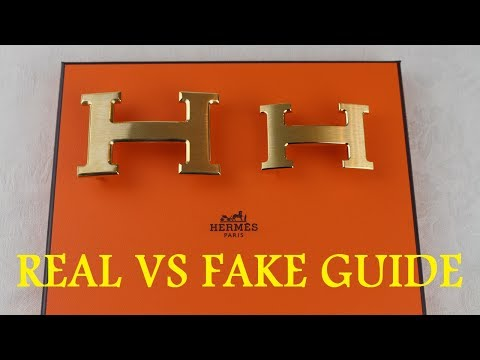HOW TO SPOT A FAKE HERMES BELT | Real vs Fake Hermes Belt | Authentic vs Replica Hermes Belt