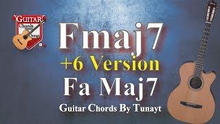★ F Maj 7 ★ How To Play F Maj7 Chord On Guitar   Fa Maj 7 Akoru Gitarda Nasıl Basılır ?