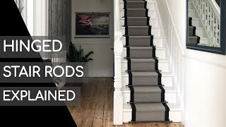 Hinged Stair Rods Explained By Black Country Metal Works