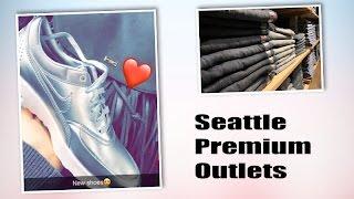 Seattle Premium Outlets/Американские аутлеты. Магазины в США. |VLOG|
