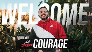 COURAGE FINALLY JOINS 100 THIEVES