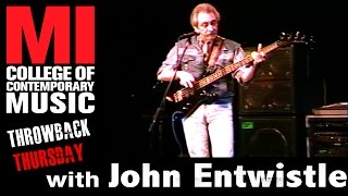John Entwistle - Throwback Thursday from the MI Vault