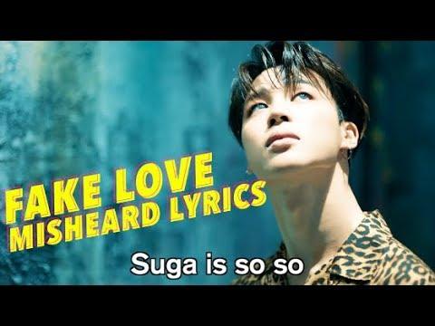 BTS FAKE LOVE Misheard Lyrics mp3