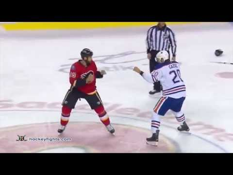 Deryk Engelland vs. Luke Gazdic