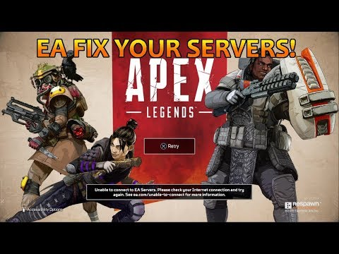 EA FIX YOUR SERVERS! - APEX LEGENDS (Especially Sydney 2)