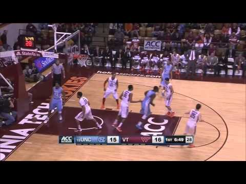 Video: UNC-Virginia Tech Game Highlights